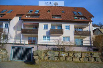 2-Zi.-Whg. mit herrlichem Schlossblick und Loggia, 97996 Niederstetten, Etagenwohnung